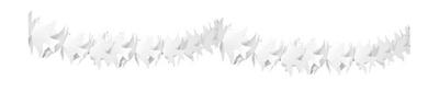 Slinger duifjes wit 6m brandvertragend/stk a12