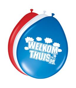 Ballonnen folatex 12ln/30cm welkom thuis /8st a12