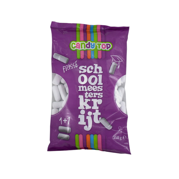 Candy top schoolmeesterskrijt 400 gr