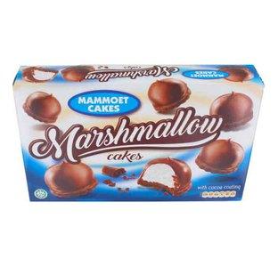 Mammoet cakes marshmallow cocoacoating 225 gram