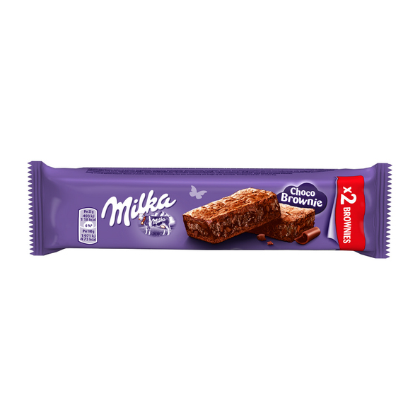 Milka brownie melk 50 gr