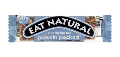 Eat natural pinda's chocola & extra proteine 45 gr