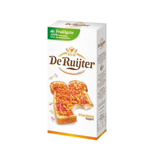 De Ruijter fruit hagel 400 gr