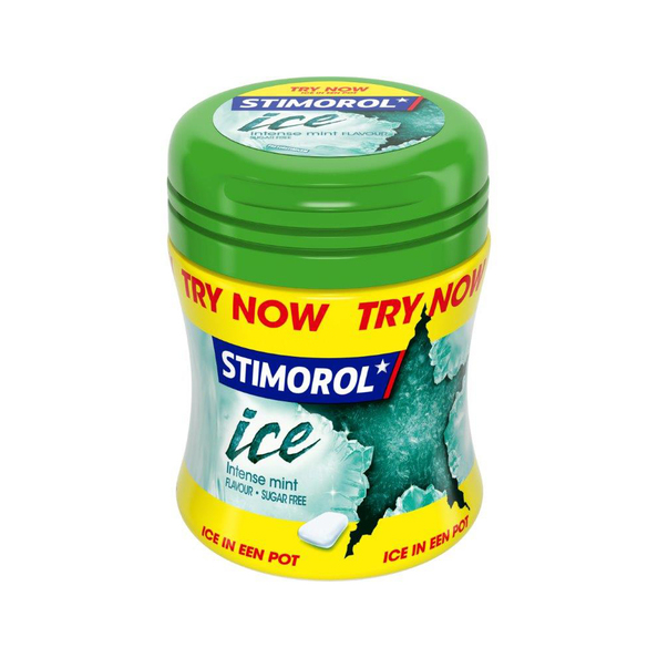 Stimorol ice intense mint bottle 50 gr