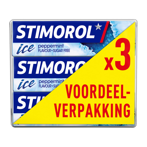 Stimorol ice peppermint 3-pack