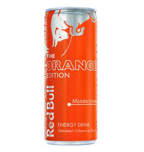 Red bull the orange edition blik 250 ml