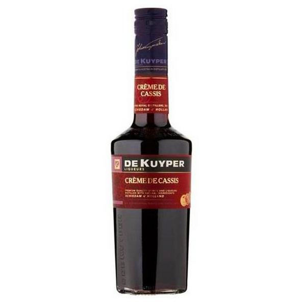 De kuyper creme de cassis 0.7 liter