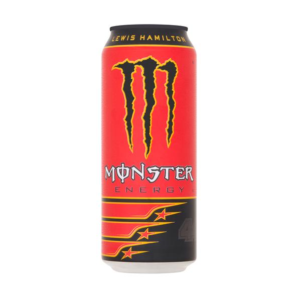 Monster energy Lewis Hamilton 44 blik 0.5 liter