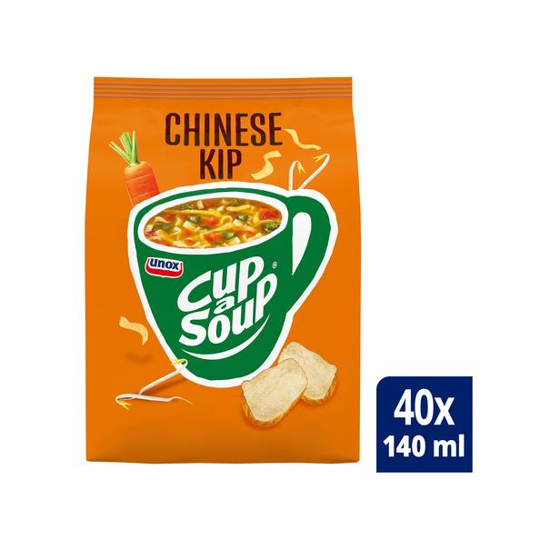 Unox Cup-a-Soup vending Chinese Kip 40 x 140 ml x 4