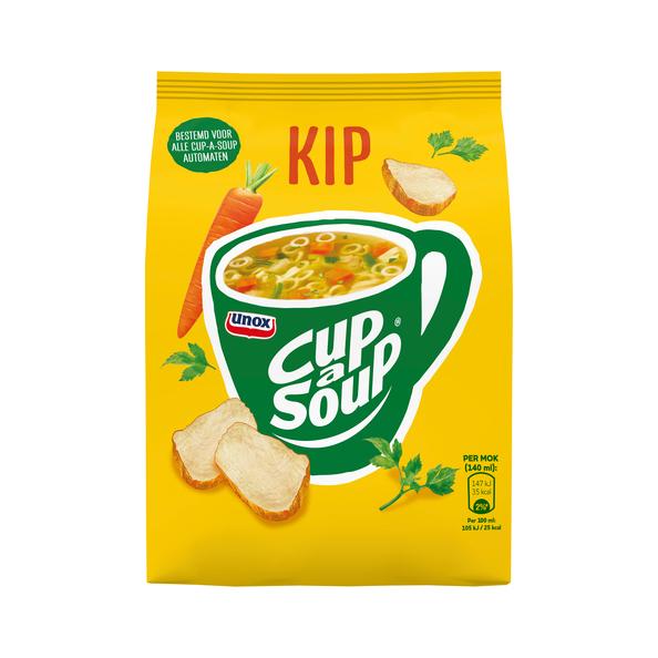 Unox Cup-a-Soup vending Kip 40 x 140 ml x 4