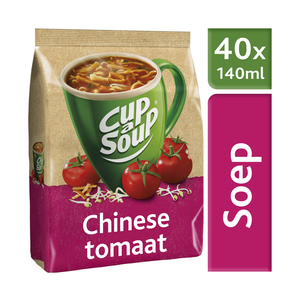 Unox Cup-a-Soup vending Chinese Tomaat 40 x 140 ml  x 4