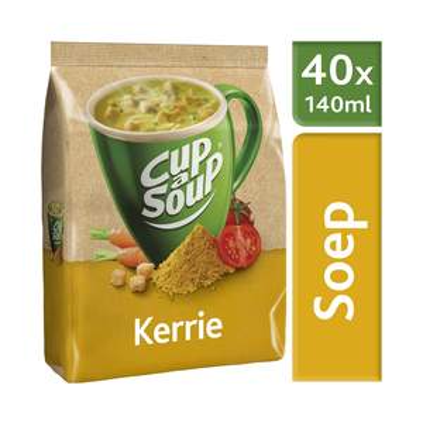 Unox Cup-a-Soup vending Kerrie 40 x 140 ml x 4