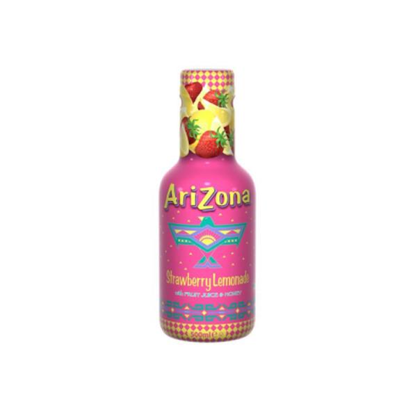Arizona cowboy cocktail strawberry lemonade pet 50 cl