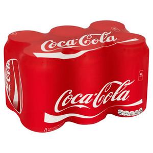 Coca cola blik 33cl 6-pack a4