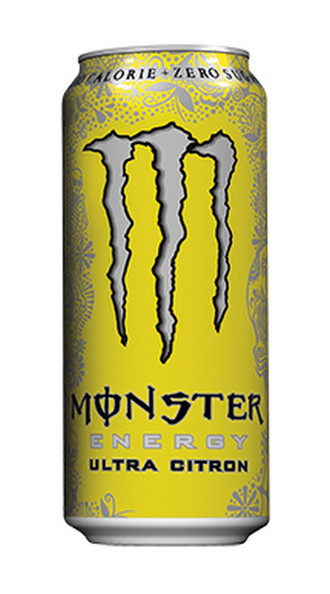 Monster ultra citron blik 0.5 liter