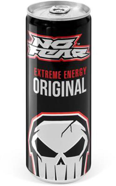 No Fear energydrink blik 250 ml