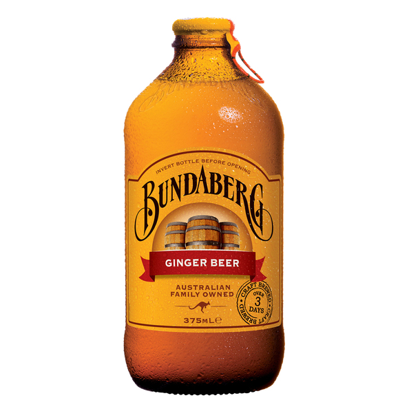 Bundaberg ginger beer flesje 375 ml