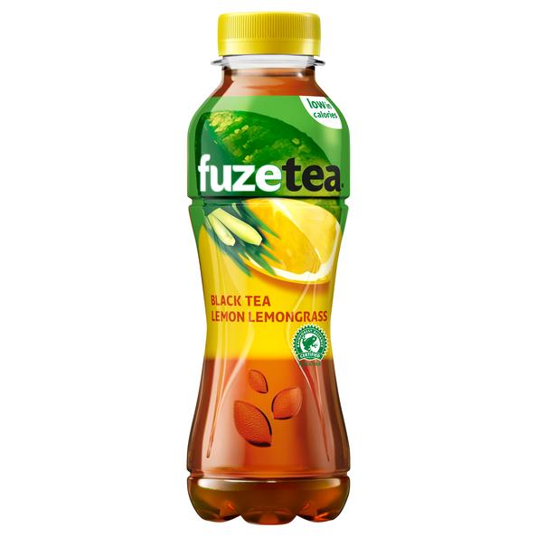 Fuze tea black tea lemon lemongrass pet 40 cl