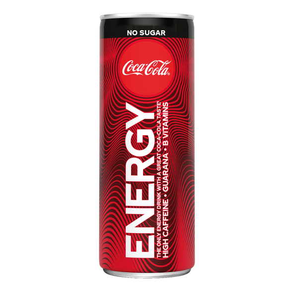 Coca cola energy no sugar blik 25 cl