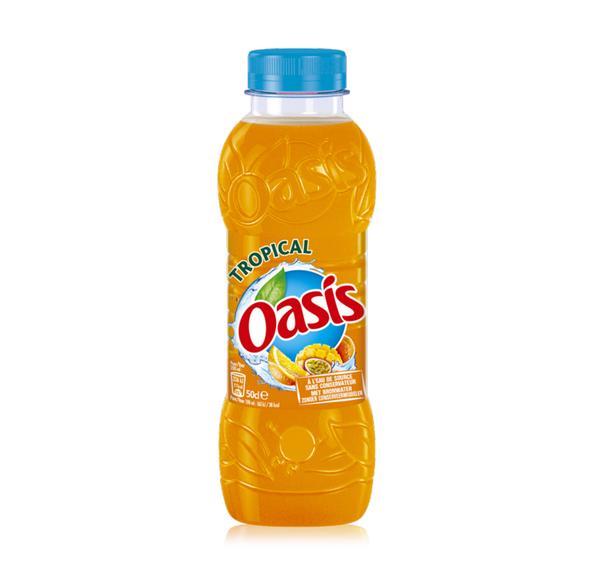 Oasis tropical pet 50 cl