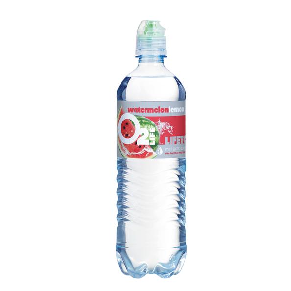 O2life watermelon pet fles 750 ml