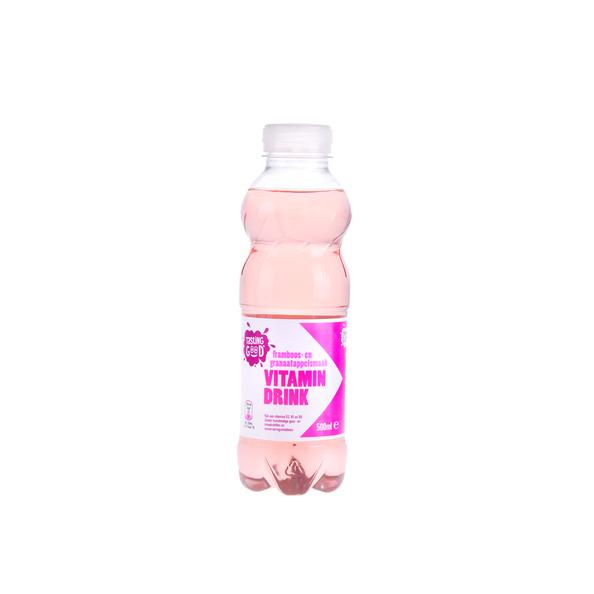 Tasting Good Vitamin drink framboos granaatappel pet 50 cl