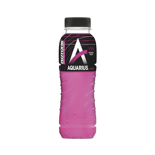 Aquarius isotonic cherry pet 33cl. a24