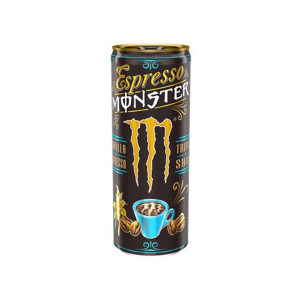 Monster espresso vanilla blik 0.25 ltr