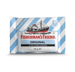 Fisherman's friend extra strong svuikervrij blauw 25 gr