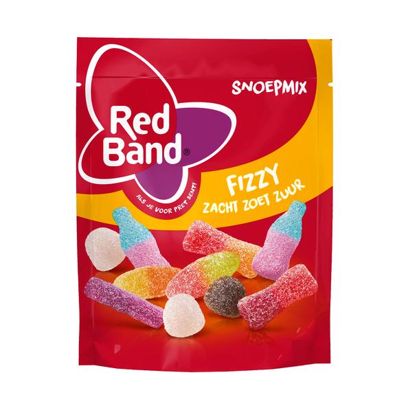 Red Band snoepmix fizzy stazak 190 gr