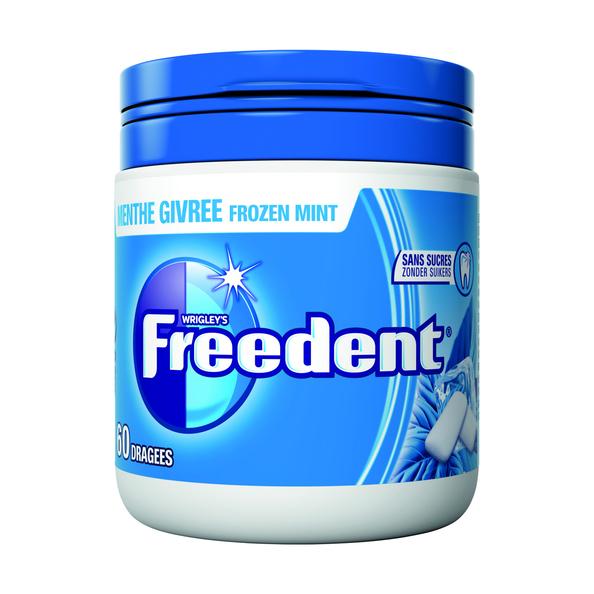 Freedent frozen mint bottle 84 gr