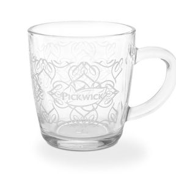 Pickwick slow tea glas