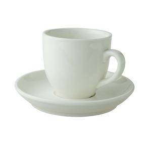 Palmer kop en schotel 14 cl koffie ivoor