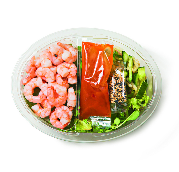 Snij salademaaltijd garnaal fs 400 gr