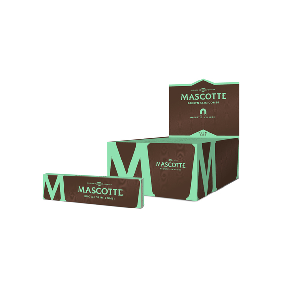 Mascotte brown combi slim size with magnet + tips