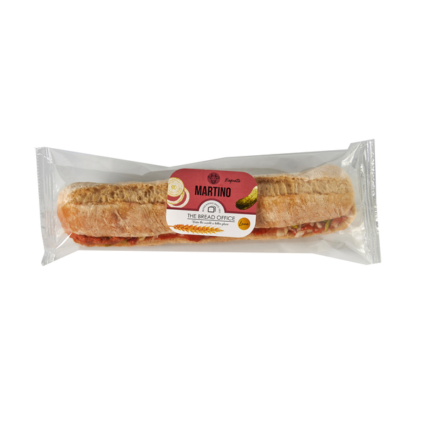 The Bread Office Baguette martino wit 198 gr kort houdbaar