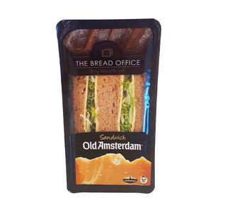 The Bread Office sandwich old amsterdam oude kaas meergranen 127 gr lang houdbaar