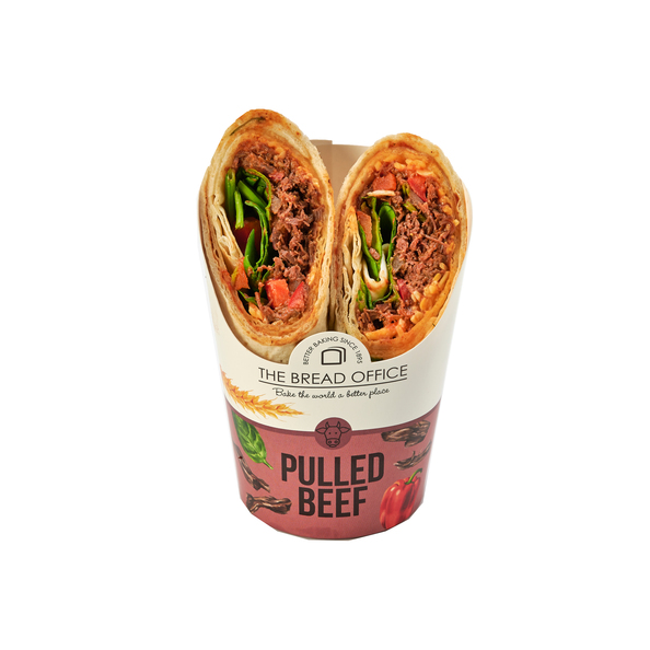 The Bread Office wrap pulled beef 158 gr