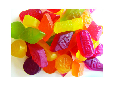 Red Band winegum assorti 6 x 1 kg