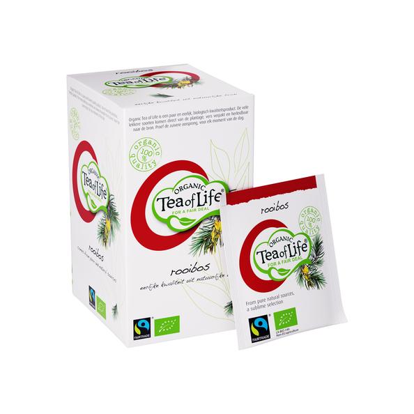 Tea of life fairtrade organic rooibos 1.5 gr