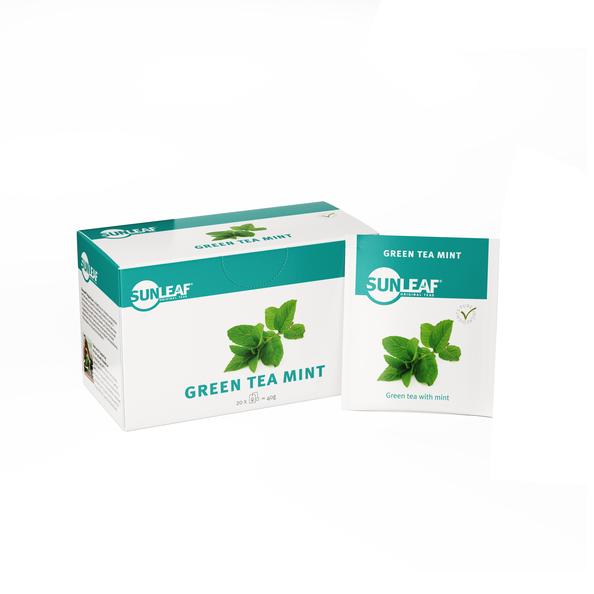 SunLeaf original tea green tea mint 20x2gr