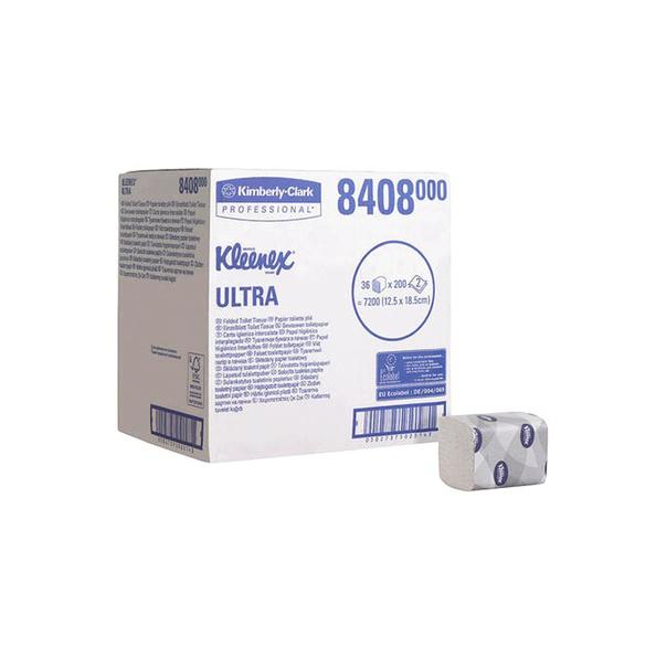 Kc kleenex toiletpap. 2lgs 8408 200vel a 36pak