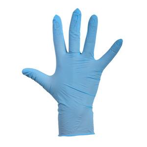 Depa latex handschoenen blauw poeder L 100 stuks
