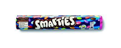 Smarties reuzekoker 150 gr - Candybars - Assortiment - FOOX Smarties Verpakking