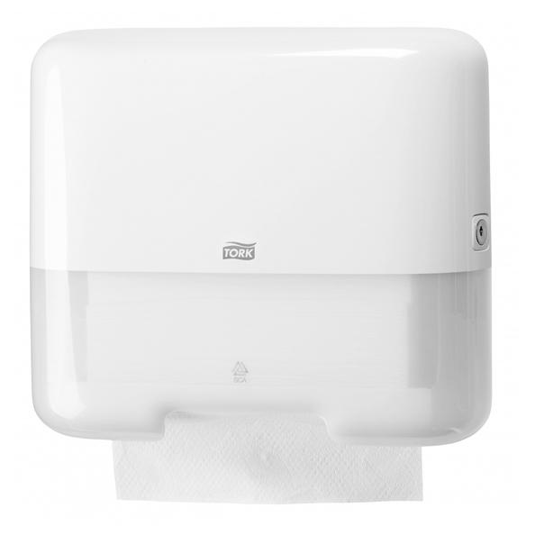 Tork 553000 ZZ-fold / C-fold handdoekdispenser wit