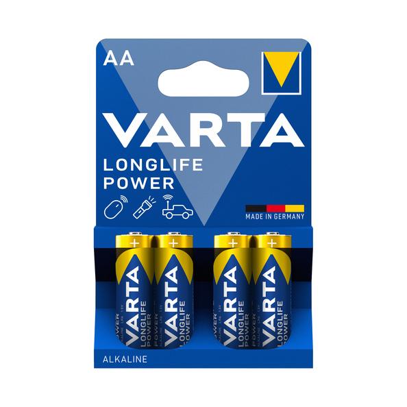 Varta Long Life AA alkaline batterijen