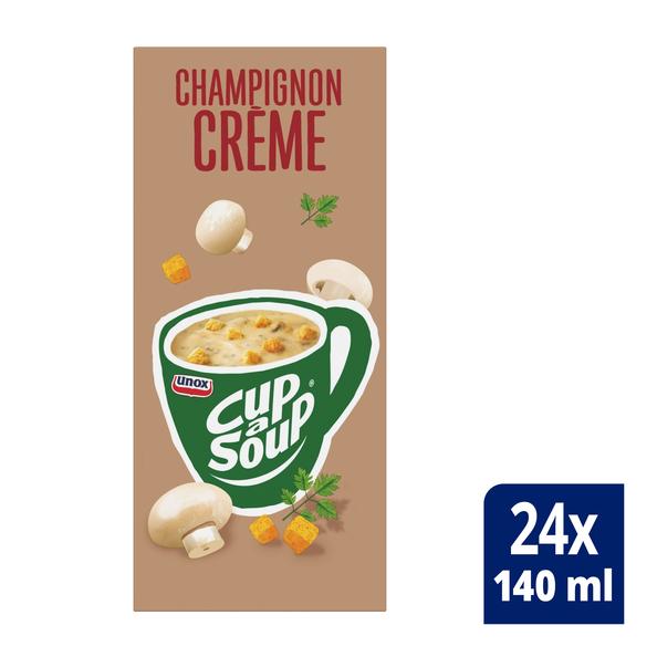 Unox Cup-a-Soup Champignon Crème 24 x 140 ml