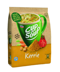 Losse zak cup-a-soup vending kerrie 40 porties