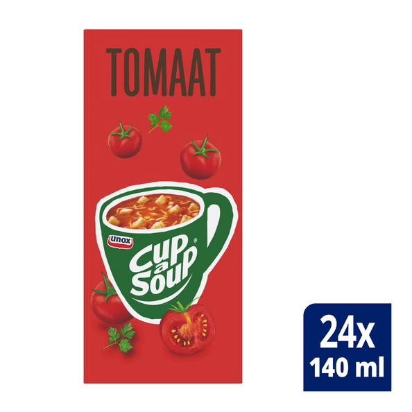 Unox Cup-a-Soup Tomaat 24 x 140 ml
