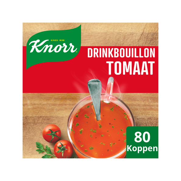 Knorr drinkbouillon tomaat zakje